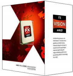 Процессор AMD AM3+ FX6350 Box 6x39 GHz Turbo Boost 42 GHz L3 8Mb Vishera 32 nm TDP 125W FD6350FRHKBOX