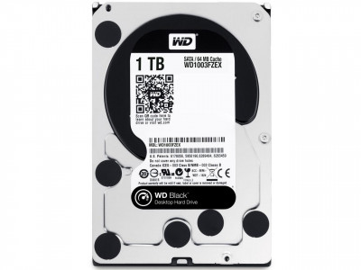 Жорсткий диск 3.5' 1Tb Western Digital Black SATA3 64Mb 7200 rpm WD1003FZEX