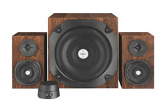 Акустическая система Trust Vigor 2.1 Subwoofer Speaker Set - brown(20244)