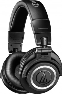 Наушники Audio-Technica ATH-M50xBT Black
