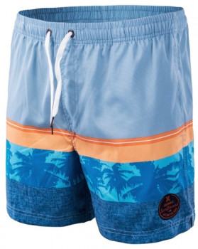 Шорти AquaWave Palawan Blue/Orange/Palm Print
