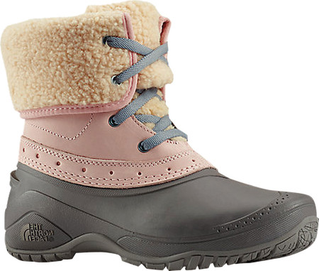 cecd4926 Женские ботинки The North Face Shellista Roll-Down Waterproof Boot Misty  Rose/Q-