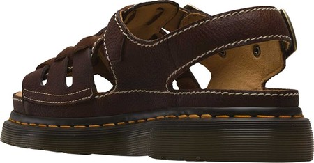 6db889e32eb03 Женские сандали Dr. Martens 8092 Archive Fisherman Sandal Dark Brown  Grizzly Leather 39 (141052