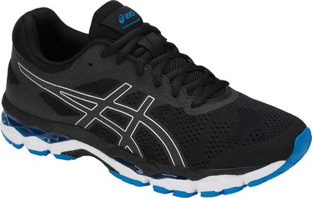 Мужские кроссовки ASICS GEL Superion 2 Running Shoe BlackSilver 45 (137058)