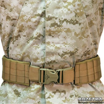 Пояс BLACKHAWK! Padded Patrol Belt&Pad STRIKE Coyote Tan (41PBT2DE)