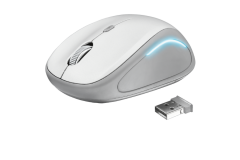 Мышь Trust Yvi FX wireless mouse - white(22335)