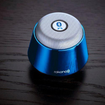 Портативная bluetooth MP3 колонка Rokonoplus B10 Blue