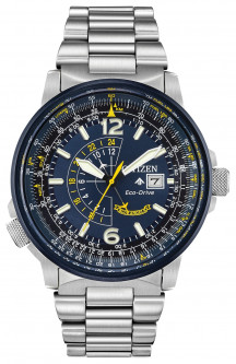Часы Citizen Promaster Eco- Drive BJ7006-56L Nighthawk Blue Angels B877