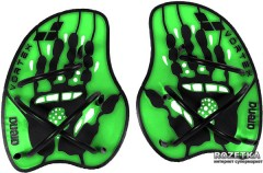 Лопатки для плавания Arena Vortex Evolution Hand Paddle 95232-65 M Black-lime (3468334370386)