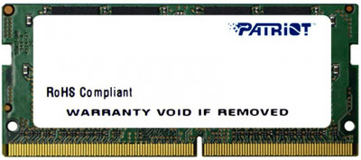 Оперативна пам'ять Patriot SODIMM DDR4-2666 8192MB PC4-21300 Signature Line (PSD48G266681S)