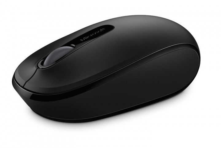 Мышка Microsoft Wireless Mobile Mouse 1850 Black (7MM-00002) - изображение 1