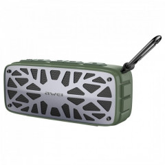Портативная bluetooth колонка Awei Y330 Bluetooth 4.2 Green (vn3110)