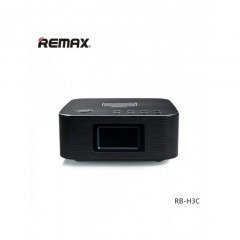 Bluetooth Колонка Remax RB-H3 3 in 1 BT3.0 Speaker with Alarm Clock Black (vn217)