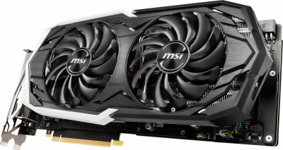 MSI PCI-Ex GeForce RTX 2070 Armor 8GB GDDR6 (256bit) (1410/14000) (USB Type-C, HDMI, 3 x DisplayPort) (RTX 2070 ARMOR 8G)