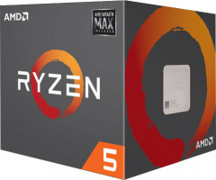 Процессор AMD Ryzen 5 2600X 3.6GHz/16MB (YD260XBCAFMAX) sAM4 BOX