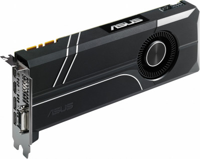 Asus PCI-Ex GeForce Turbo GTX 1070 8GB GDDR5 (256bit) (1506/8000) (DVI, 2 x HDMI, 2 x DisplayPort) (TURBO-GTX1070-8G)