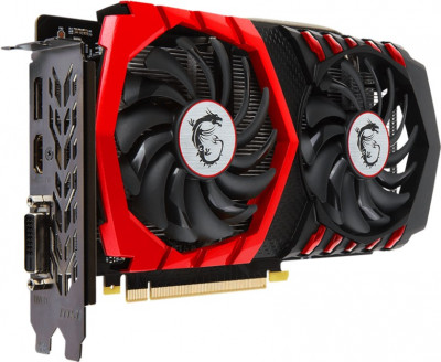 MSI PCI-Ex GeForce GTX 1050 Gaming X 2GB GDDR5 (128bit) (1417/7008) (DVI, HDMI, DisplayPort) (GTX 1050 GAMING X 2G)