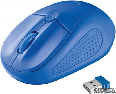 Миша Trust Primo Wireless Blue (TR20786)