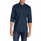 Рубашка Eddie Bauer Mens Long-Sleeve Twill Shirt LAKE S Темно-синий (8286LKE) - изображение 2