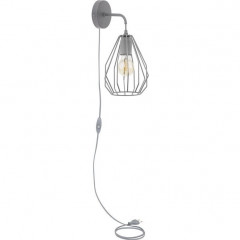 Бра Tk Lighting 2286 Brylant Gray