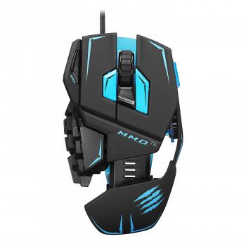 Мышь Mad Catz M.M.O. TE USB Black/Blue (MCB437140002/04/1) Refurbished