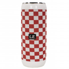 Портативная Bluetooth колонка LZ M128 Red + White (2957-8351)