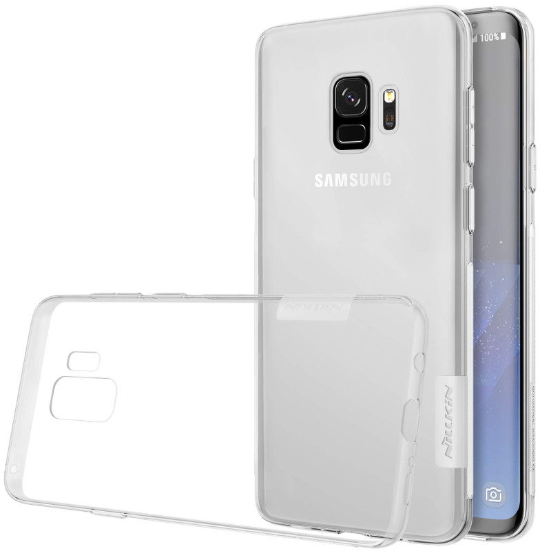 Чехол Nillkin Nature Series TPU для Samsung Galaxy S9 Прозрачный