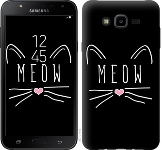 Чехол EndorPhone на Samsung Galaxy J7 Neo J701F Kitty (3677m-1402)