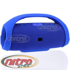 Колонка BassUP BOOMBOX портативная Bluetooth Usb SD FM цвет Синий