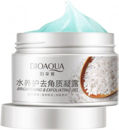Гель-пилинг для лица Bioaqua Rice Exfoliation BQY7519 140 г (6947790797519)