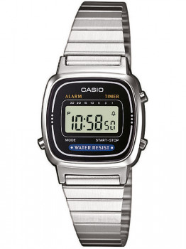 Годинник CASIO LA670WEA-1EF Collection Damen 24mm 3ATM