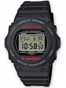 Годинник Casio DW-5750E-1ER G-Shock 45mm 20ATM