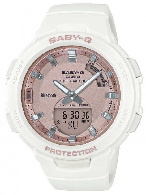 Часы Casio BSA-B100MF-7AER Baby-G Smartwatch 40mm 10ATM
