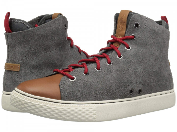 Кеды Polo Ralph Lauren Delaney Gray, 45 (305 мм) (10112504) - изображение 1