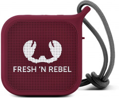 Fresh 'N Rebel Rockbox Pebble Small Bluetooth Speaker Ruby (1RB0500RU)
