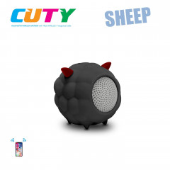 Портативная Bluetooth-колонка iDance Cuty Sheep 10W Black (CA10BK)