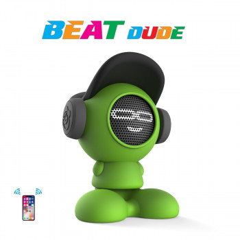 Портативная Bluetooth-колонка IDance Beat Dude 10W Зеленая (BD10GR)