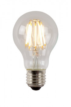 Светодиодная лампа Lucide 49020/08/60 Bulb Led A60 Filament E27/8W 850Lm 2700K Clear