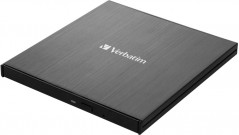 Verbatim Ultra HD 4K External Slimline Blu-ray Writer USB 3.1 Gen1 с разъемом USB Type-C (43888)