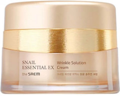 Улиточный крем от морщин The Saem Snail Essential EX Wrinkle Solution Cream 60 мл (8806164126264)