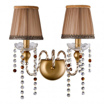 Бра Crystal Lux Alegria AP2 Gold-Brown Alegria (crystal-lux-alegria-ap2-gold-brown)