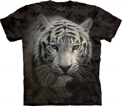 Футболка The Mountain White Tiger Reflection XXXL Черный (103818)