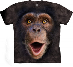 Футболка The Mountain Happy Chimp junior XL Коричневый (105962)