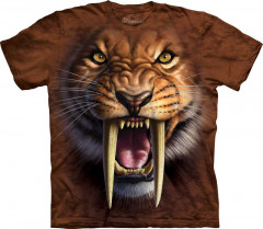Футболка The Mountain Sabertooth Tiger junior XL Коричневый (103338)