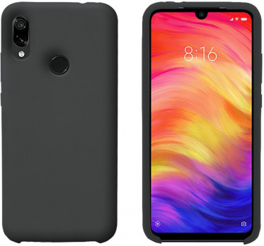 Панель Intaleo Velvet для Xiaomi Redmi Note 7 Black (1283126491399)