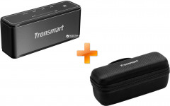 Акустическая система Tronsmart Element Mega Bluetooth Speaker Black (FSH59527) + Чехол для акустики Tronsmart Element Mega Carrying Case Black (71287) в подарок!