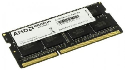 Оперативна пам'ять AMD SODIMM DDR3L-1600 8192MB PC3L-12800 R5 Performance Series (R538G1601S2SL-U)