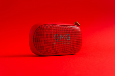 Портативна колонка OMG To GO 900 Portable Bluetooth Speaker Red (червоний)