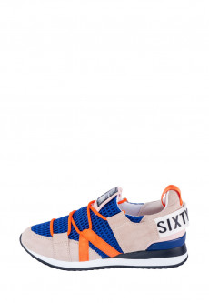 8bb6d8a2ad5781 Снікерси SixtySevenShoes The brightest way to do grocery сині