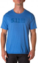 Футболка 5.11 Tactical Legacy Tonal Tee 41191AAH XL Royal Heather (2000980446643) - изображение 1